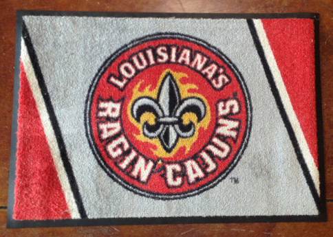 50% off all UL and LSU rugs